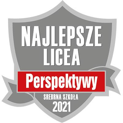 Perspektywy - Ranking liceów ogólnokształcących 2021.